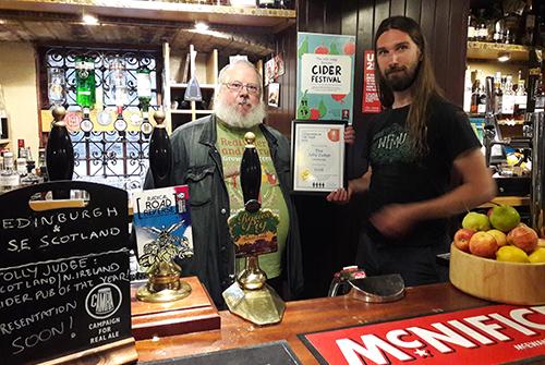 Jolly Judge SNIB Cider POTY 2016