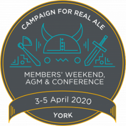Logo for Members' weekend 2020